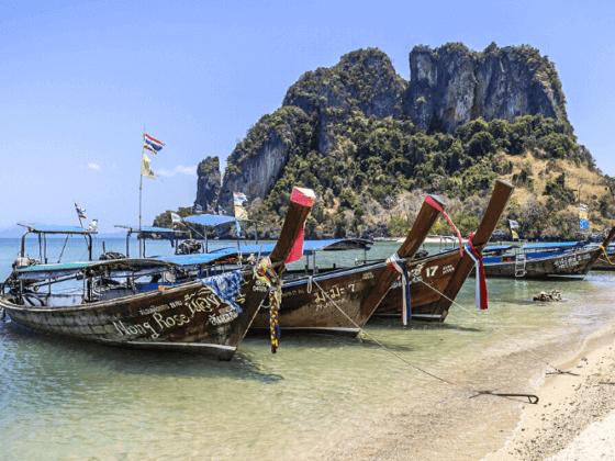 tour della thailandia in barca