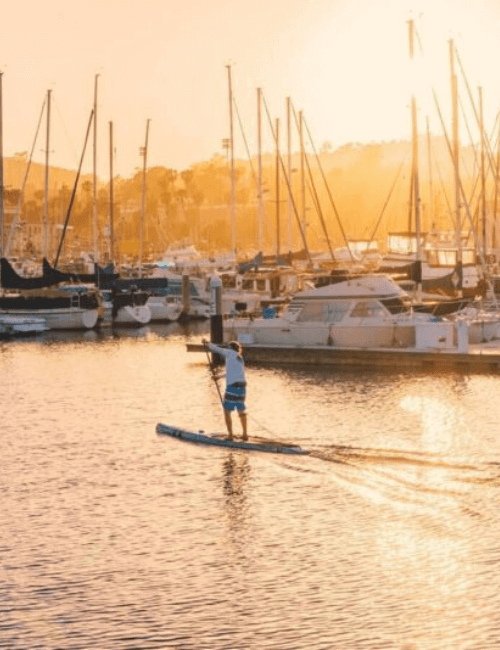 paddle board in porto