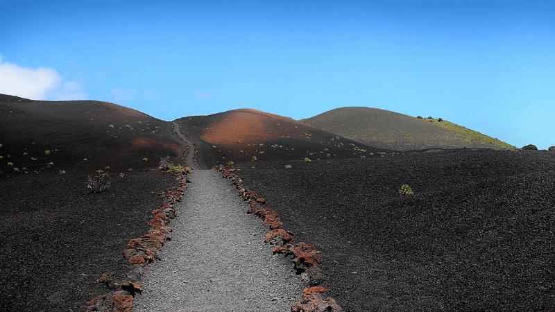 paesaggio vulcanico canarie