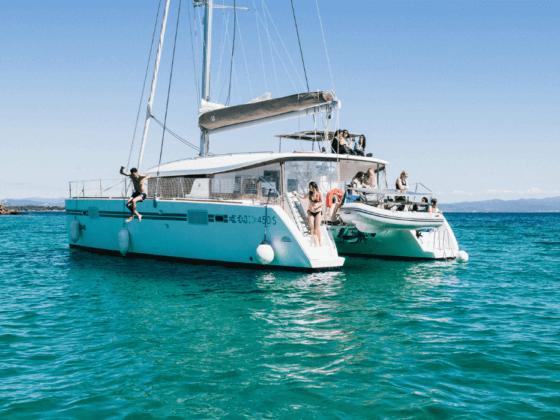 noleggio catamarano