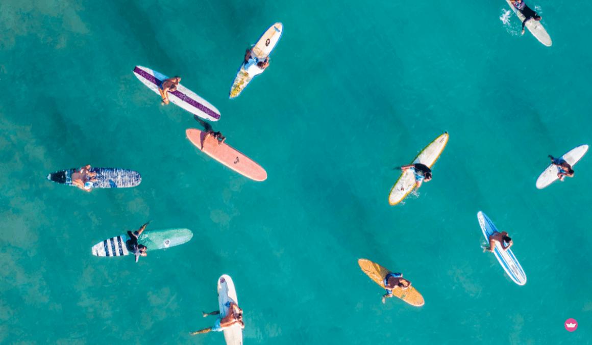 sport acquatici in mare