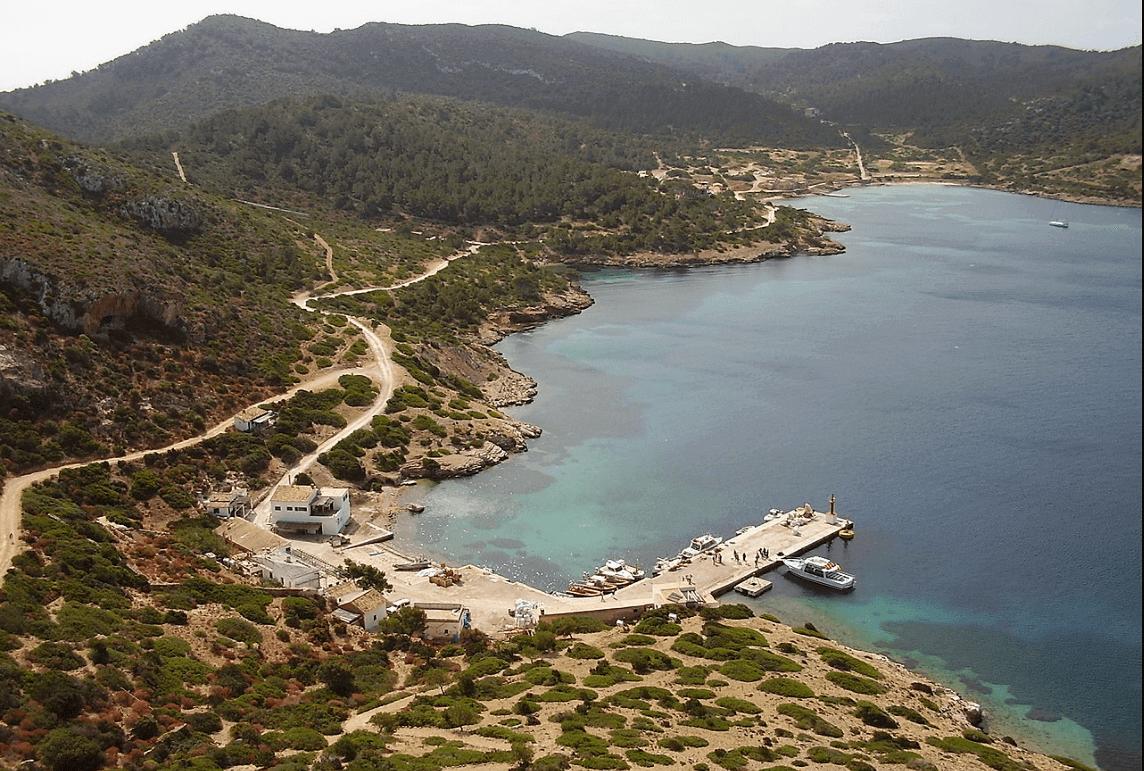 Cabrera haven Mallorca, bootverhuur, zeilvakantie, vaarvakantie, boot huren Mallorca