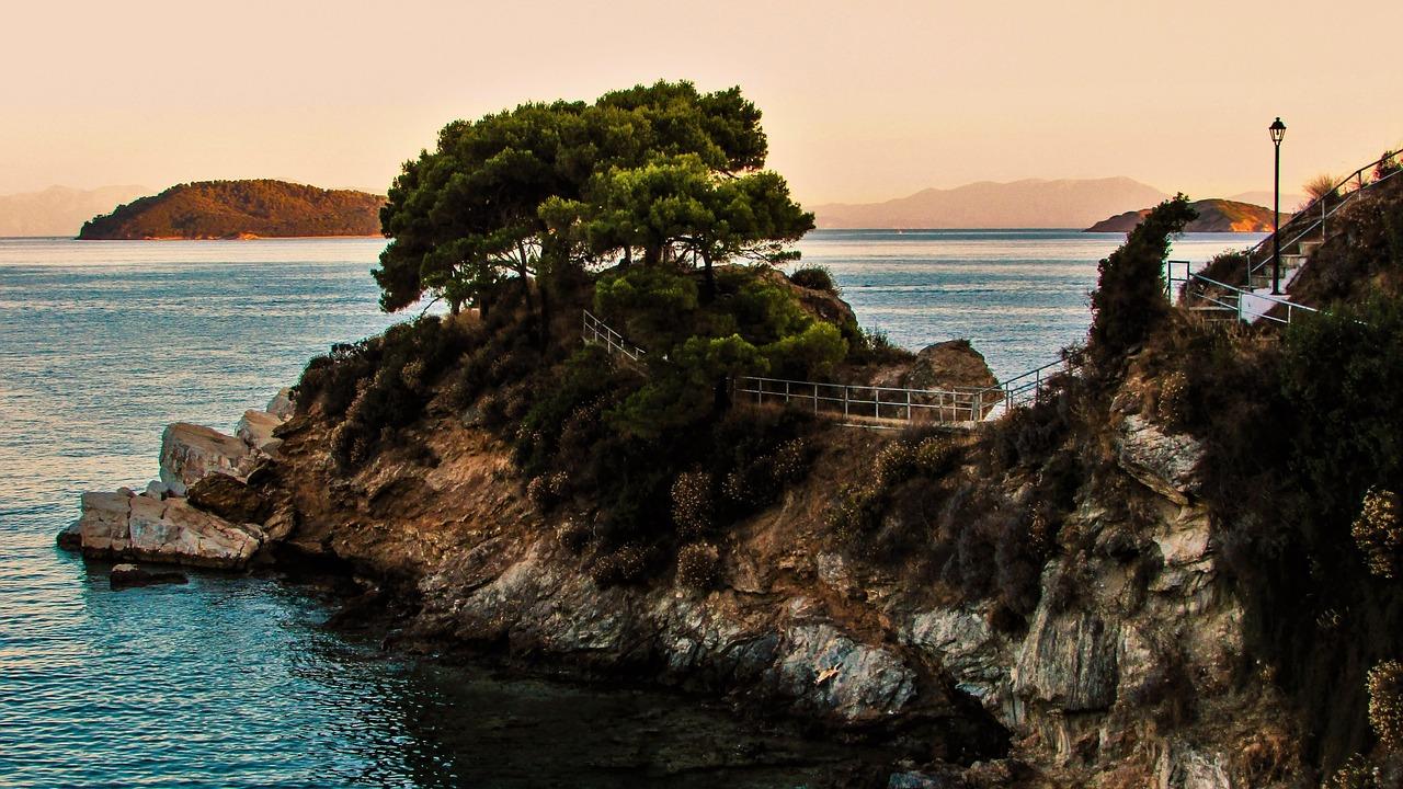 vakantie griekenland boot huren griekenland kustlijn griekenland zeilboot huren griekenland eilandhoppen griekenland
