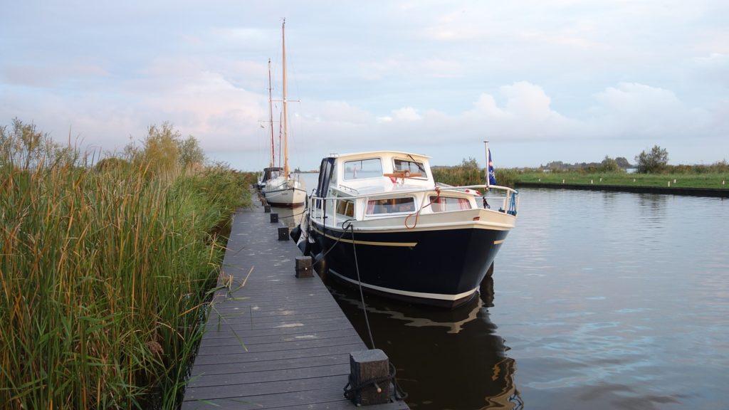 oud en nieuw op het water