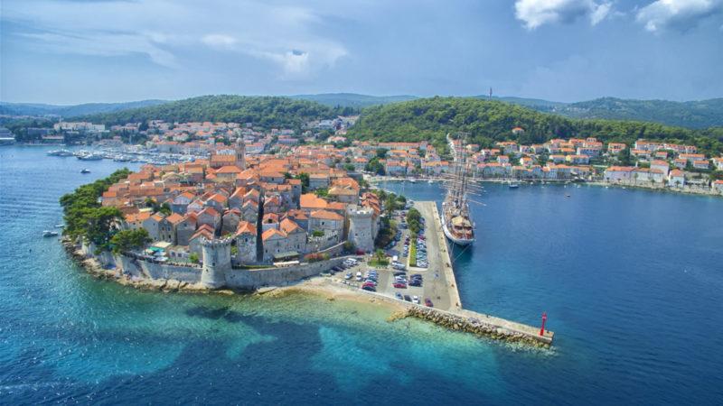 zeilen in kroatie