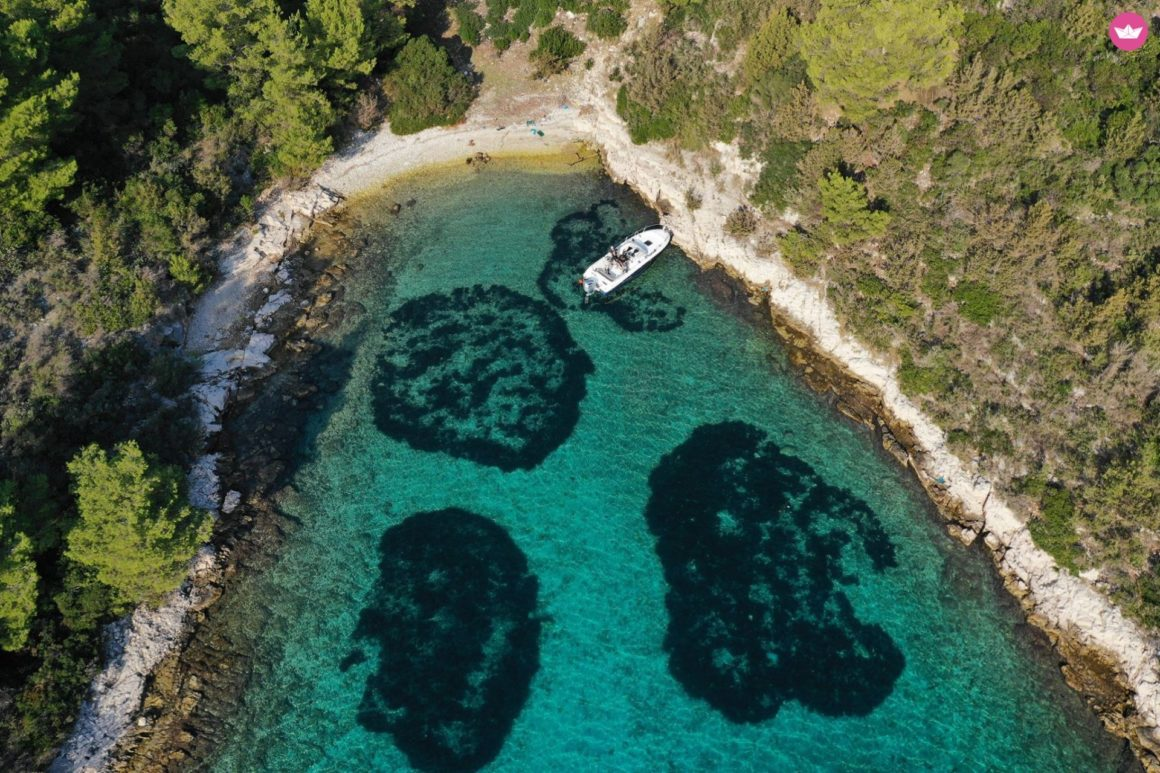 hvar eiland motorboot