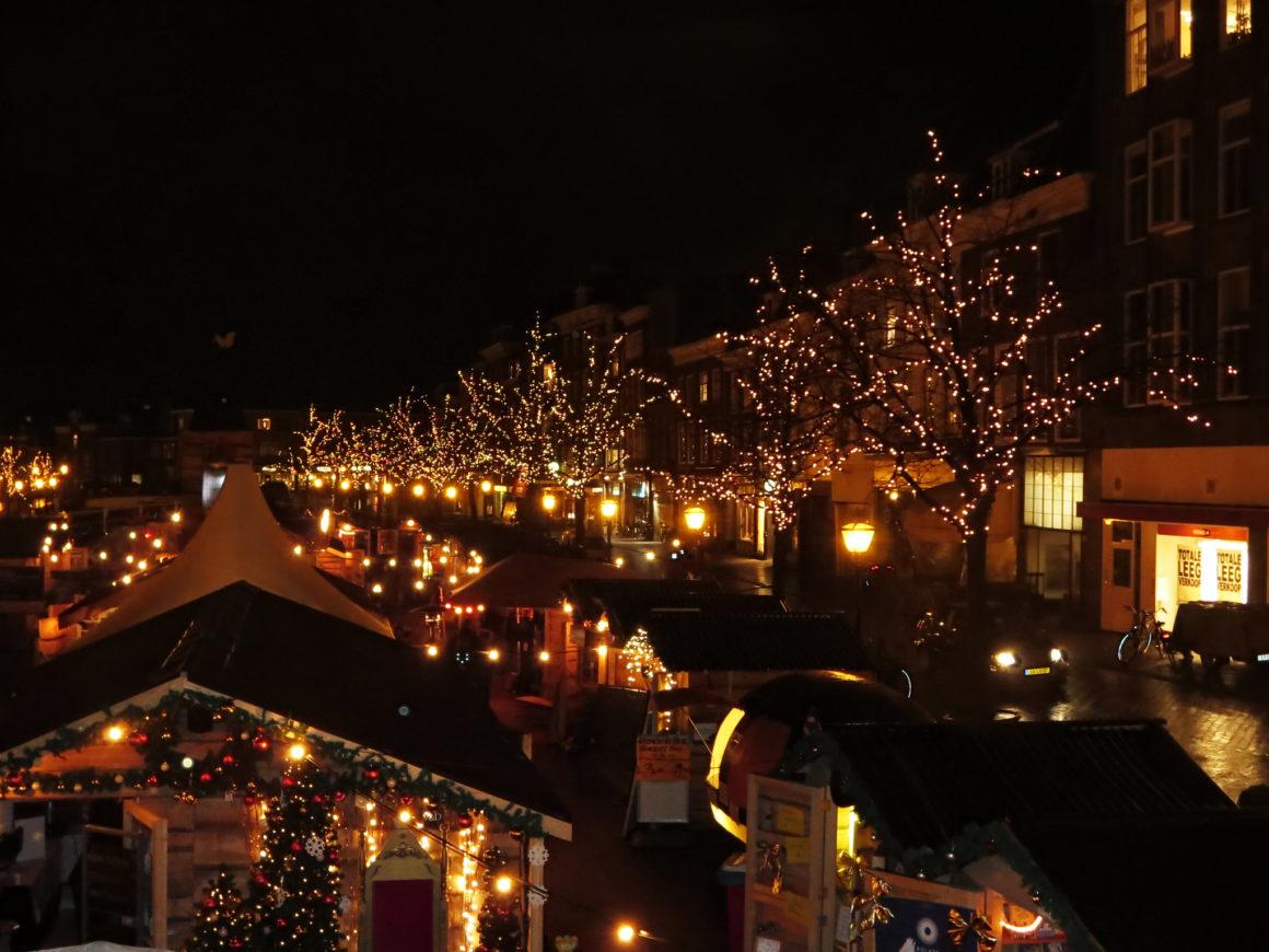 kerstmarkt leiden