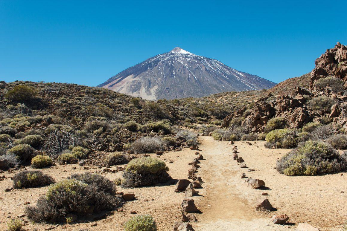 El Teide vulkaan op het eiland Tenerife