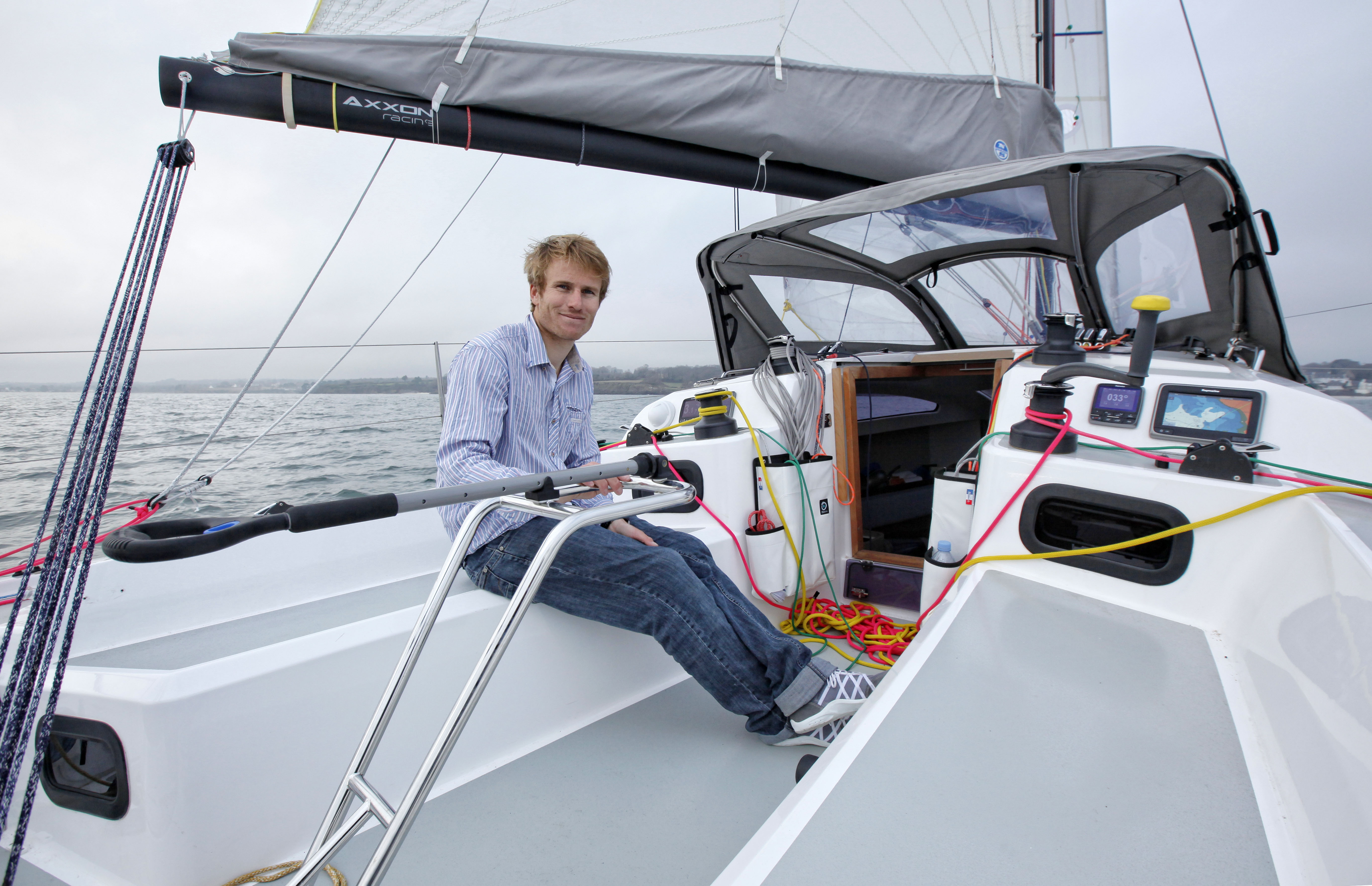 François Gabart doświadczony żeglarz