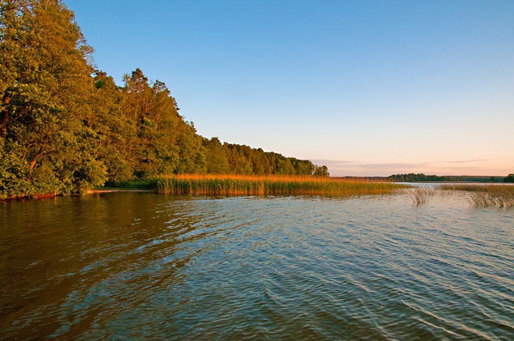 Mazury, jezioro, weekend