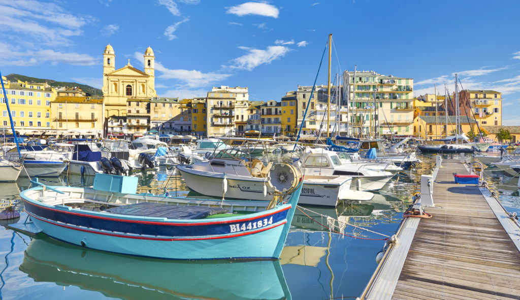 czarter jachtów Korsyka