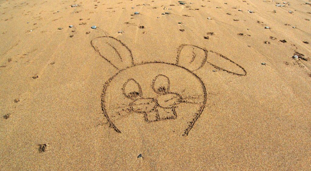 Wielkanoc plaża