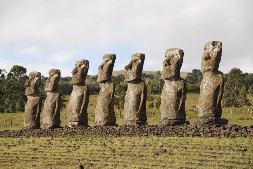 Wyspa Wielkanocna Głowy Moai