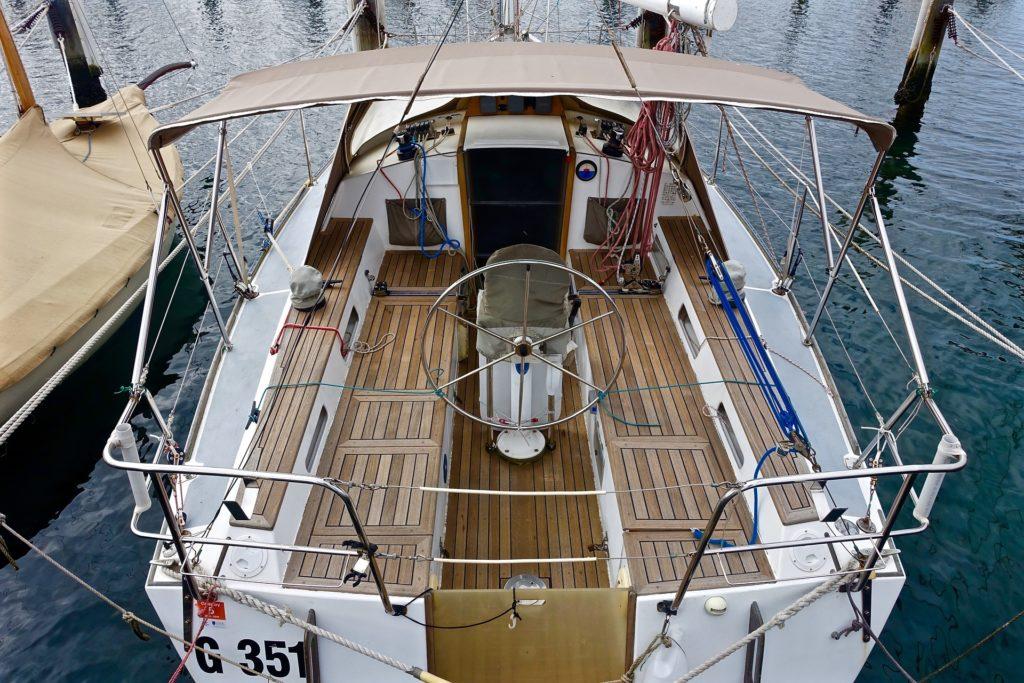 zewnętrze łodzi