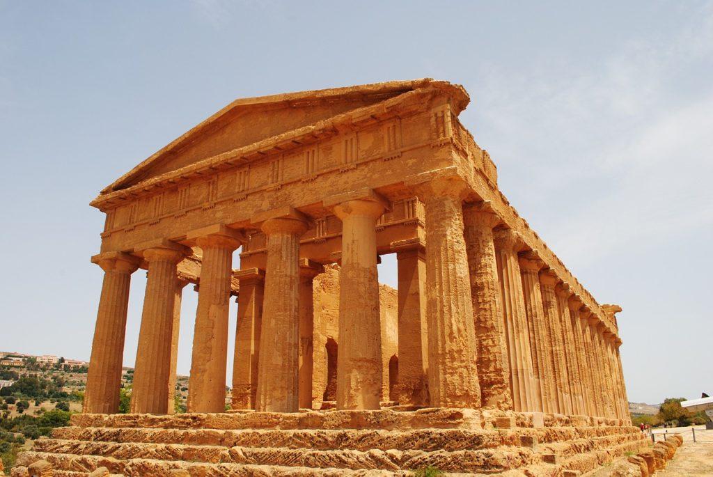 świątynia zgody na sycylii