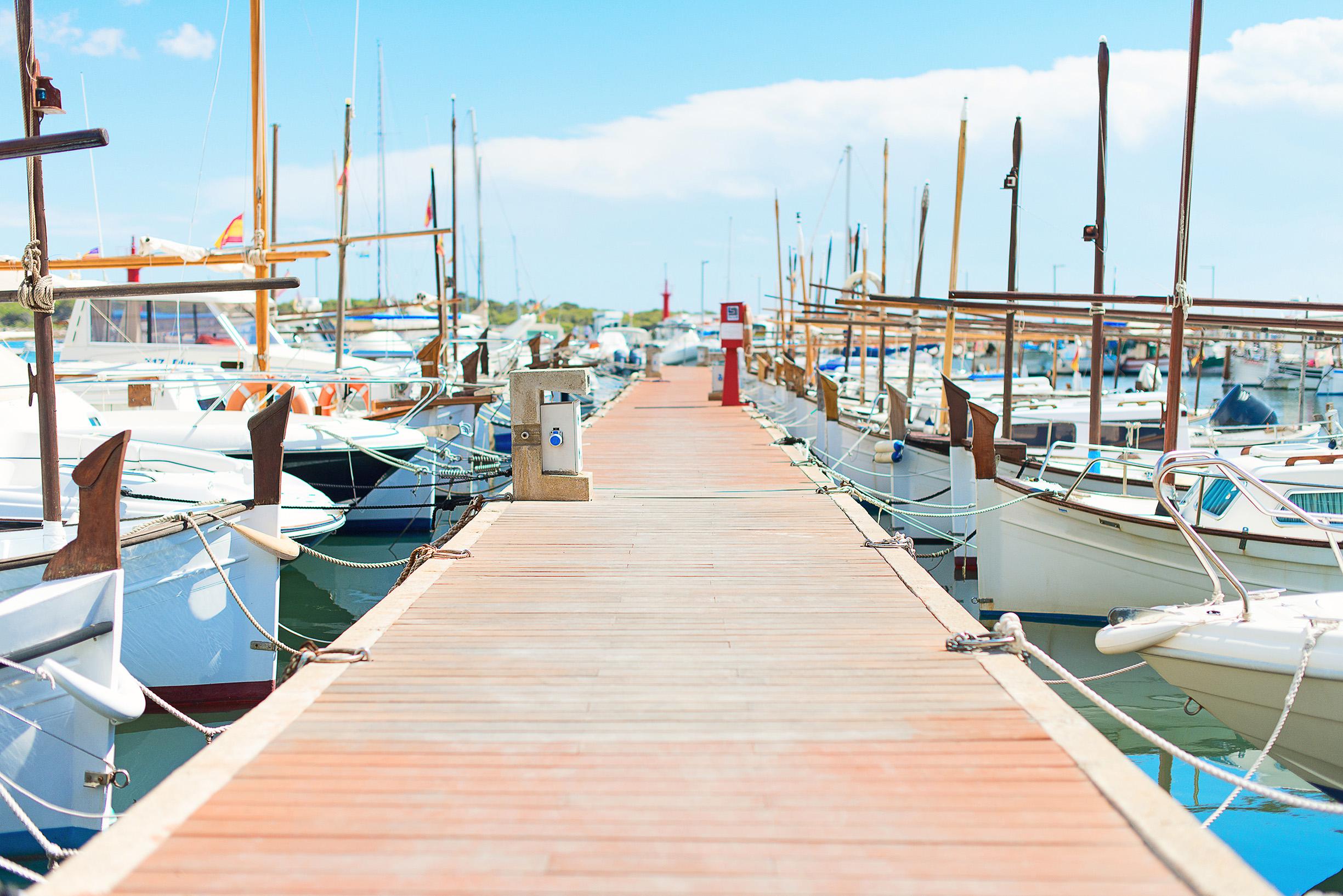 Port jaki typ łodzi