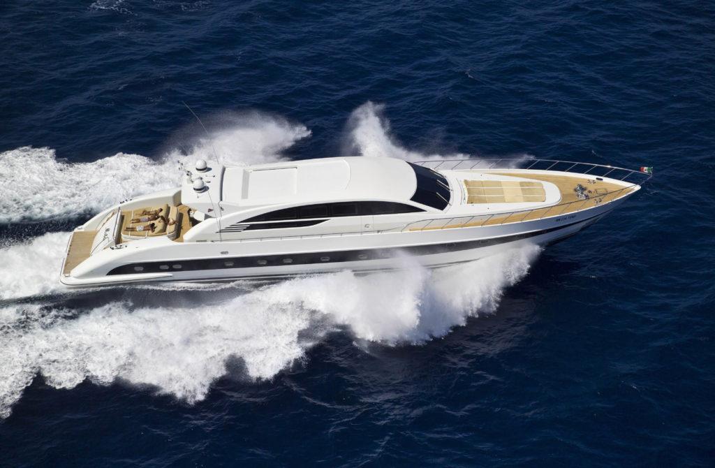 luksusowy jacht motorowy