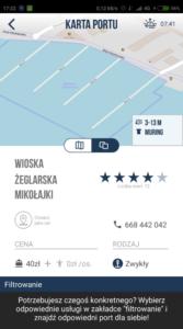 Zrzut ekranu z aplikacji portuj.pl