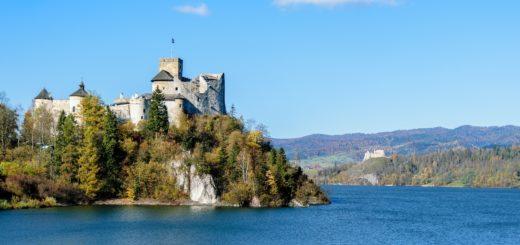 Zamek Niedzica Jezioro