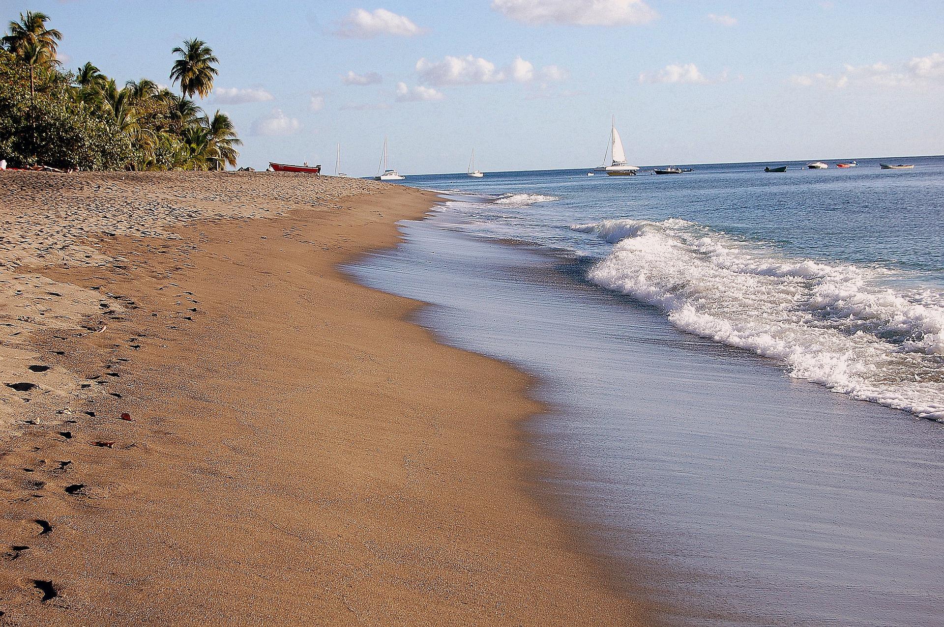 Plaża czarter jachtów Martynika na żagle