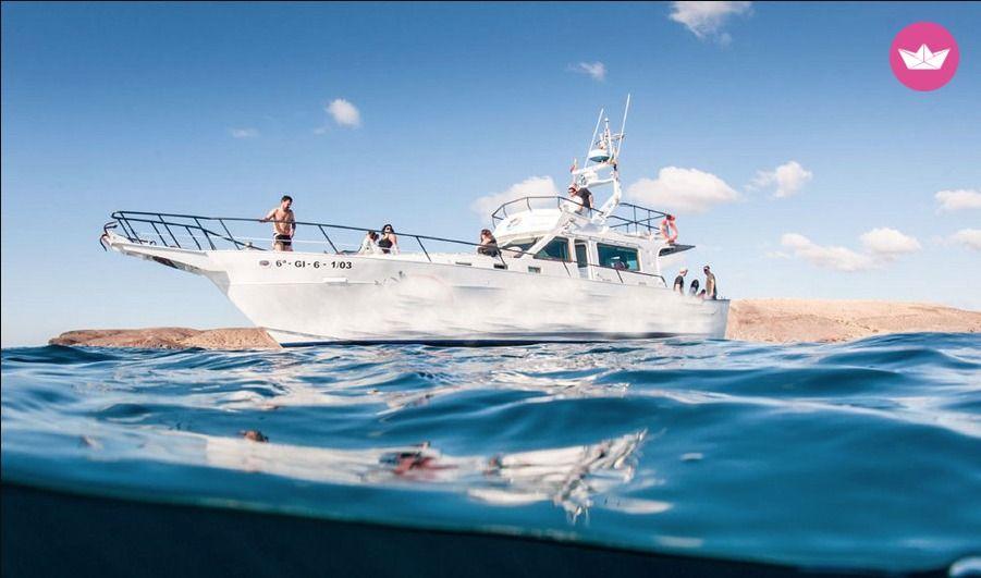 Lanzarote łódź motorowa Click & Boat