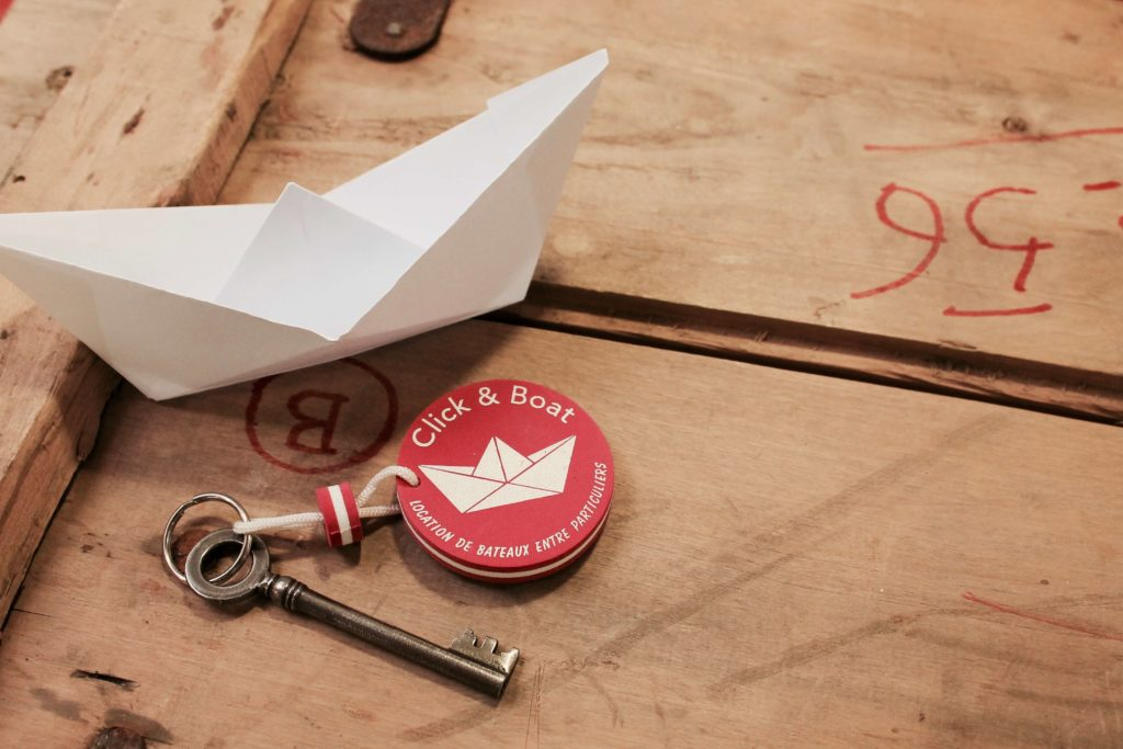Brelok Click & Boat czarter jachtów