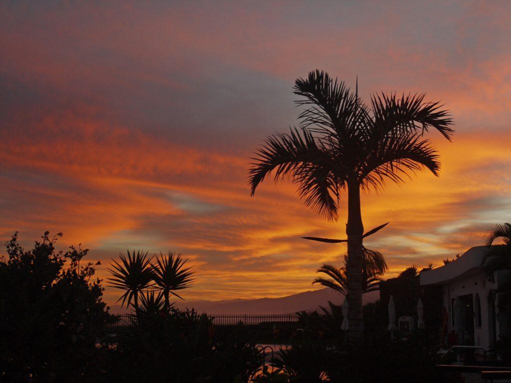 Teneryfa wschód słońca