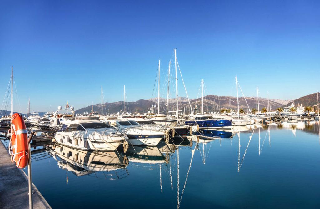 Czarnogóra wakacje jachty