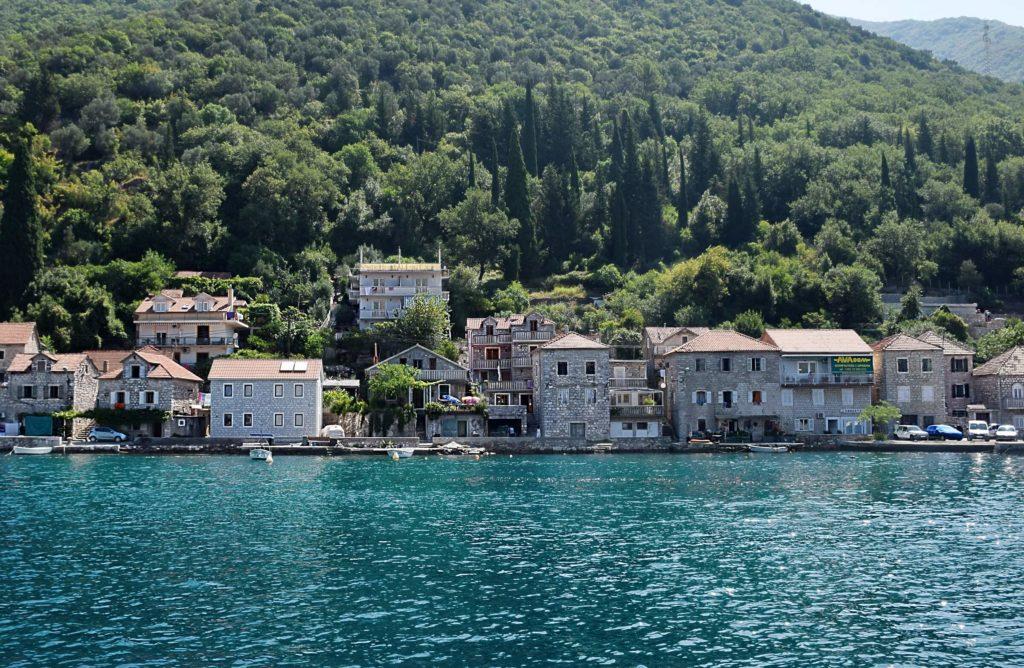 Czarnogóra Zatoka wybrzeże
