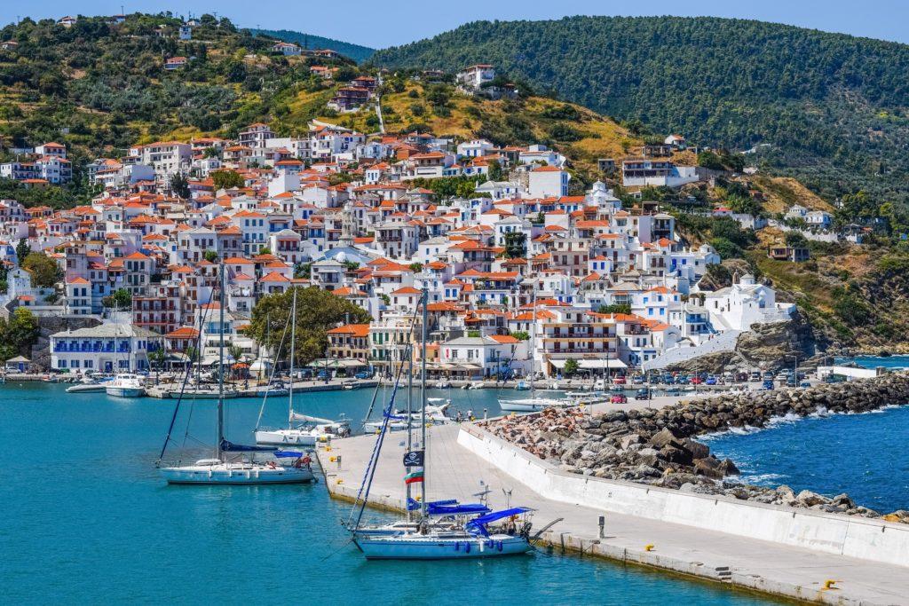Przewodnik żeglarski po Grecji Sporady