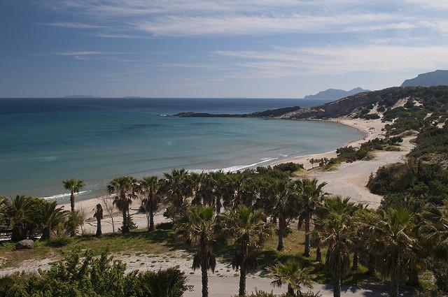 Grecja Kos plaża