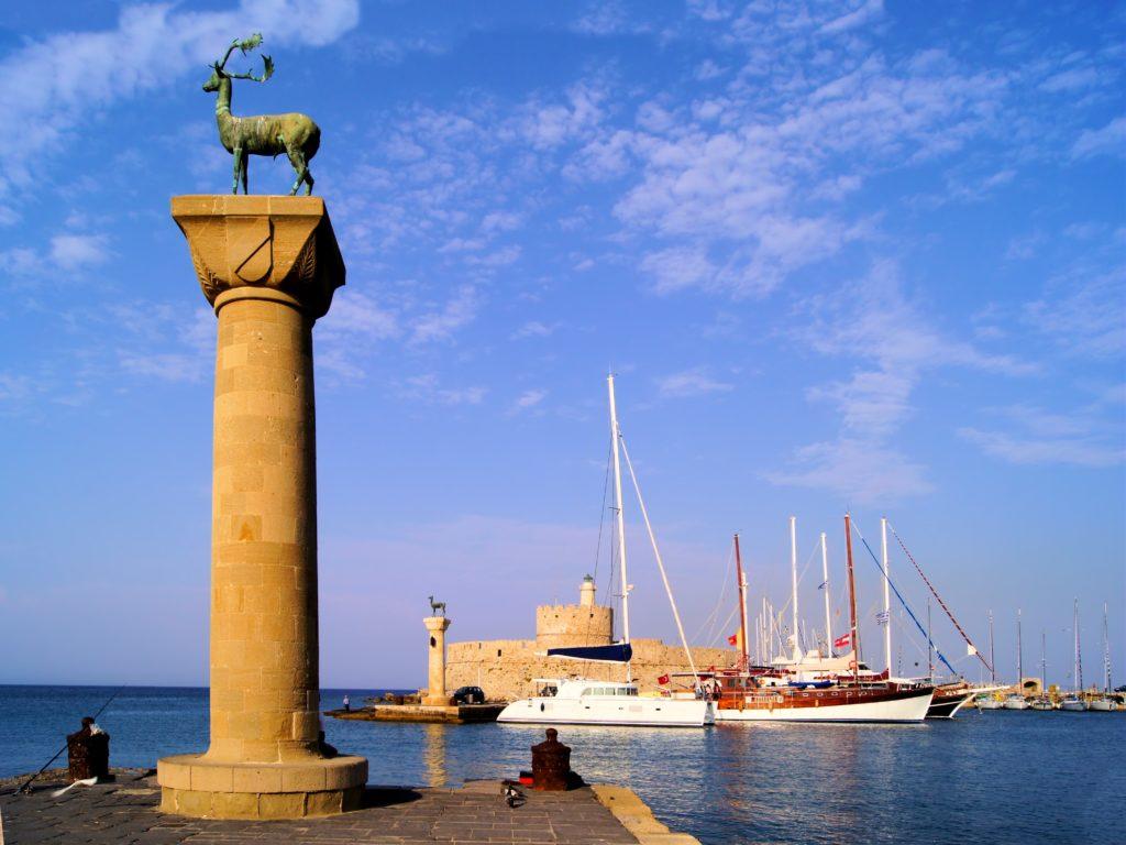 Rodos port