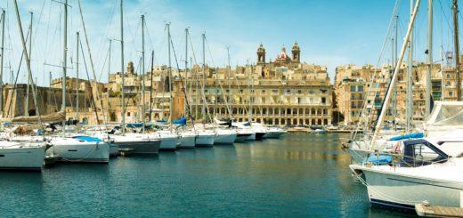 Malta czarter jachtów marina