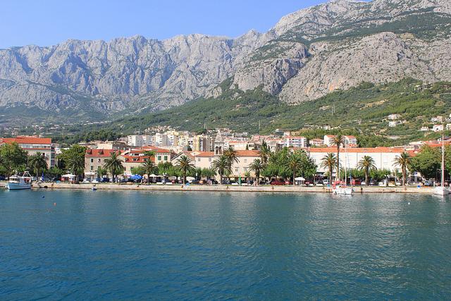 Miasto Makarska wybrzeże