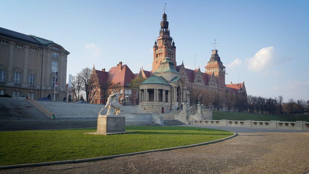 Szczecin co warto zobaczyć Wały Chrobrego