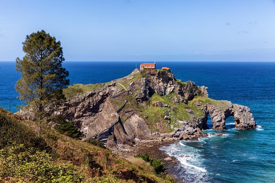 Zamek Kraj Basków Hiszpania Gra o tron