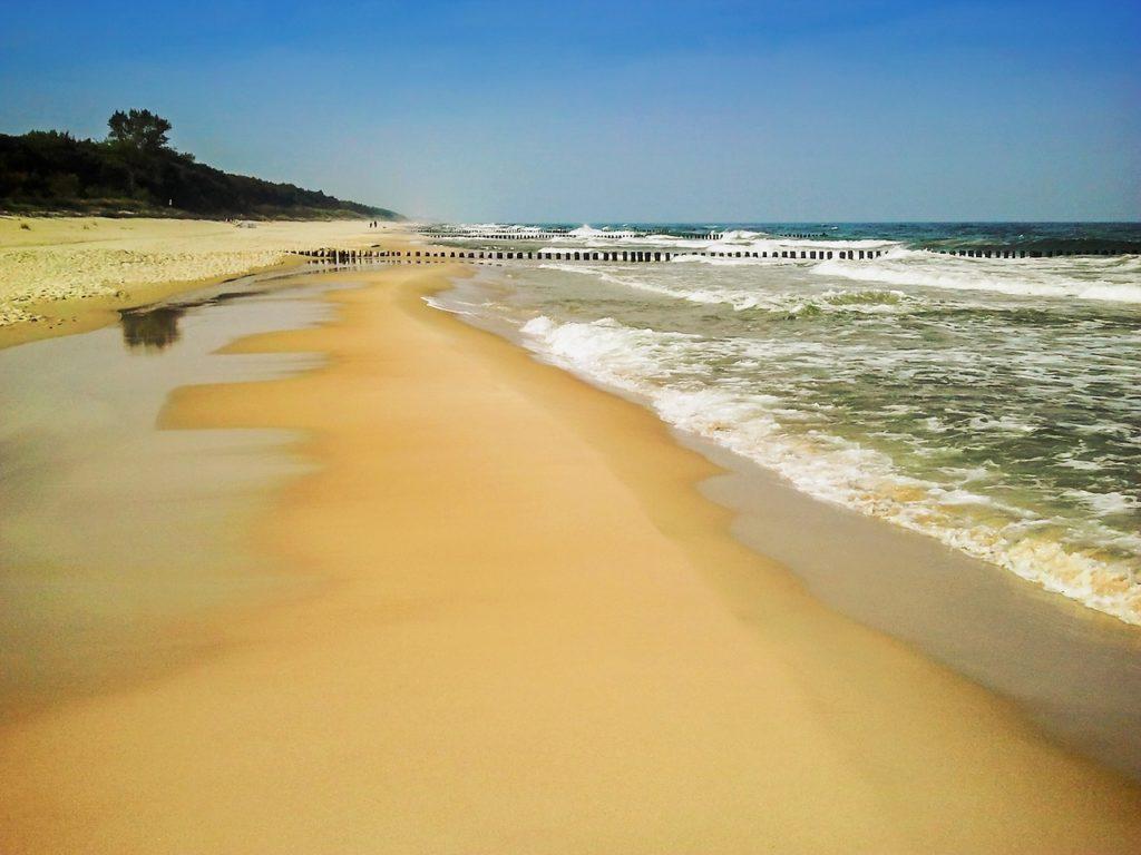 Plaża Chałupy Półwysep Helski