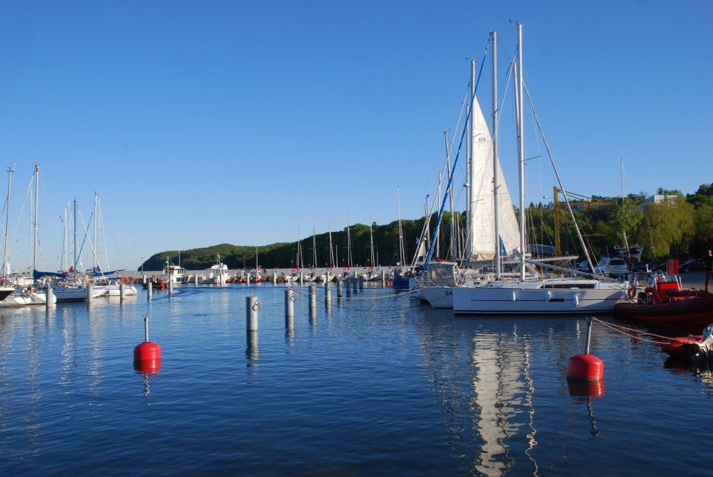 Żeglowanie na Bałtyku, Gdynia, przystań