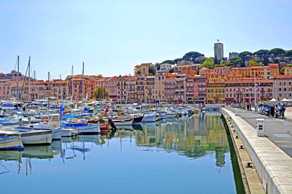 Riwiera Francuska Cannes port