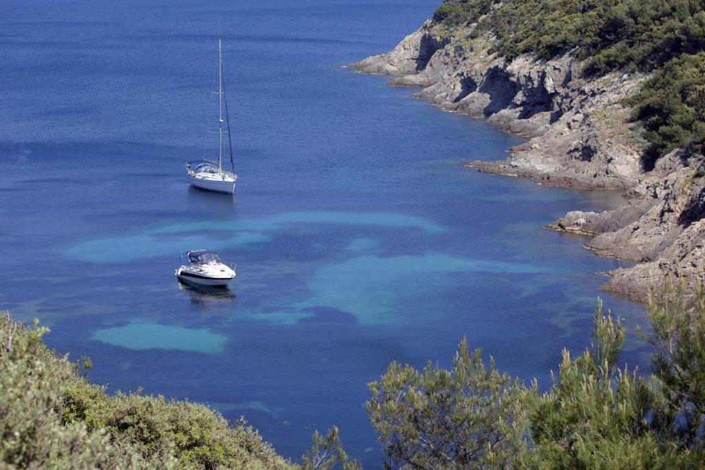 Lazurowe Wybrzeże jachty Port-Cros