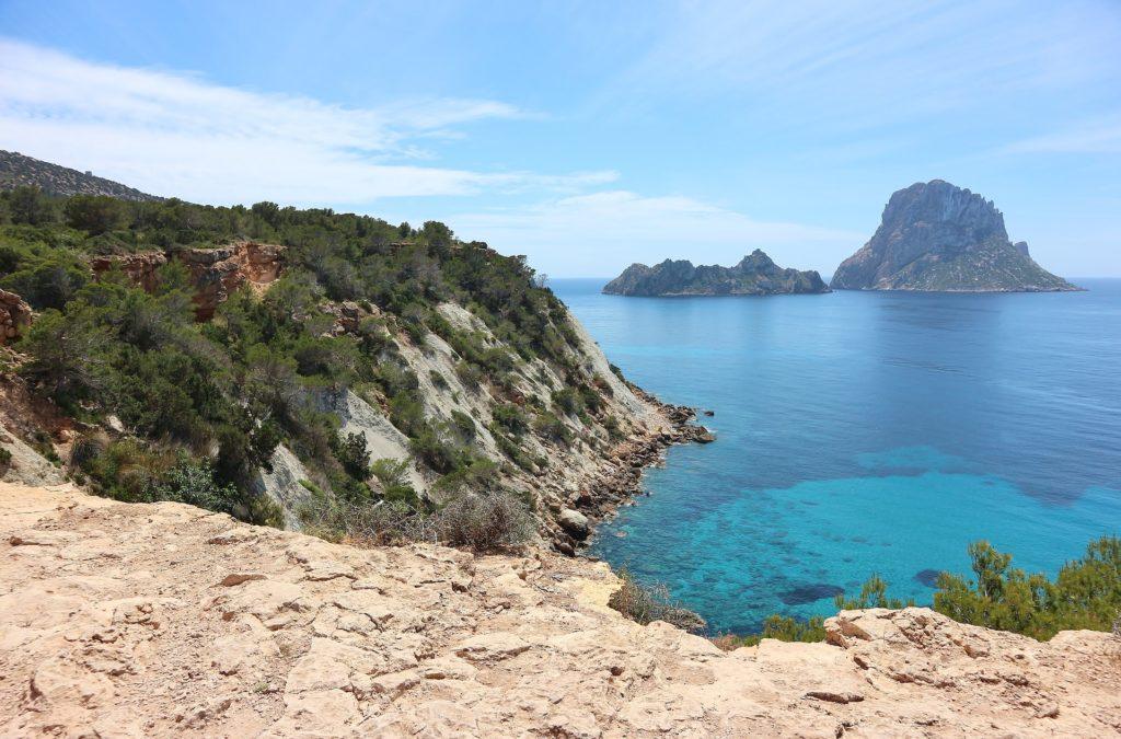 Baleary Ibiza Wyspa Es Vedra