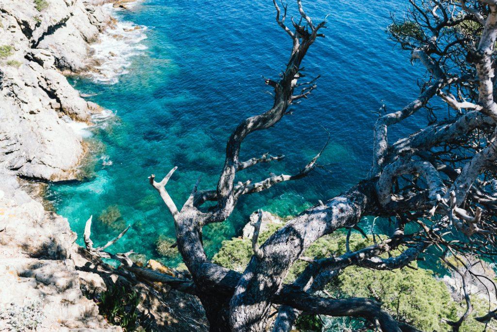 Lazurowe Wybrzeże woda zatoka