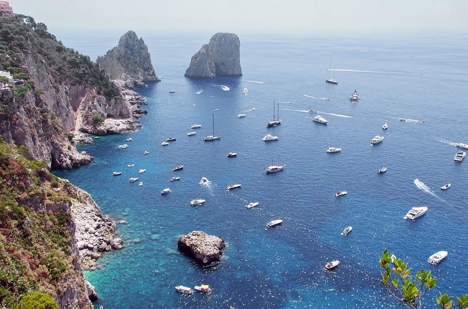 Capri czarter jachtów Włochy