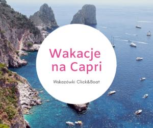Jachty wakacje na Capri
