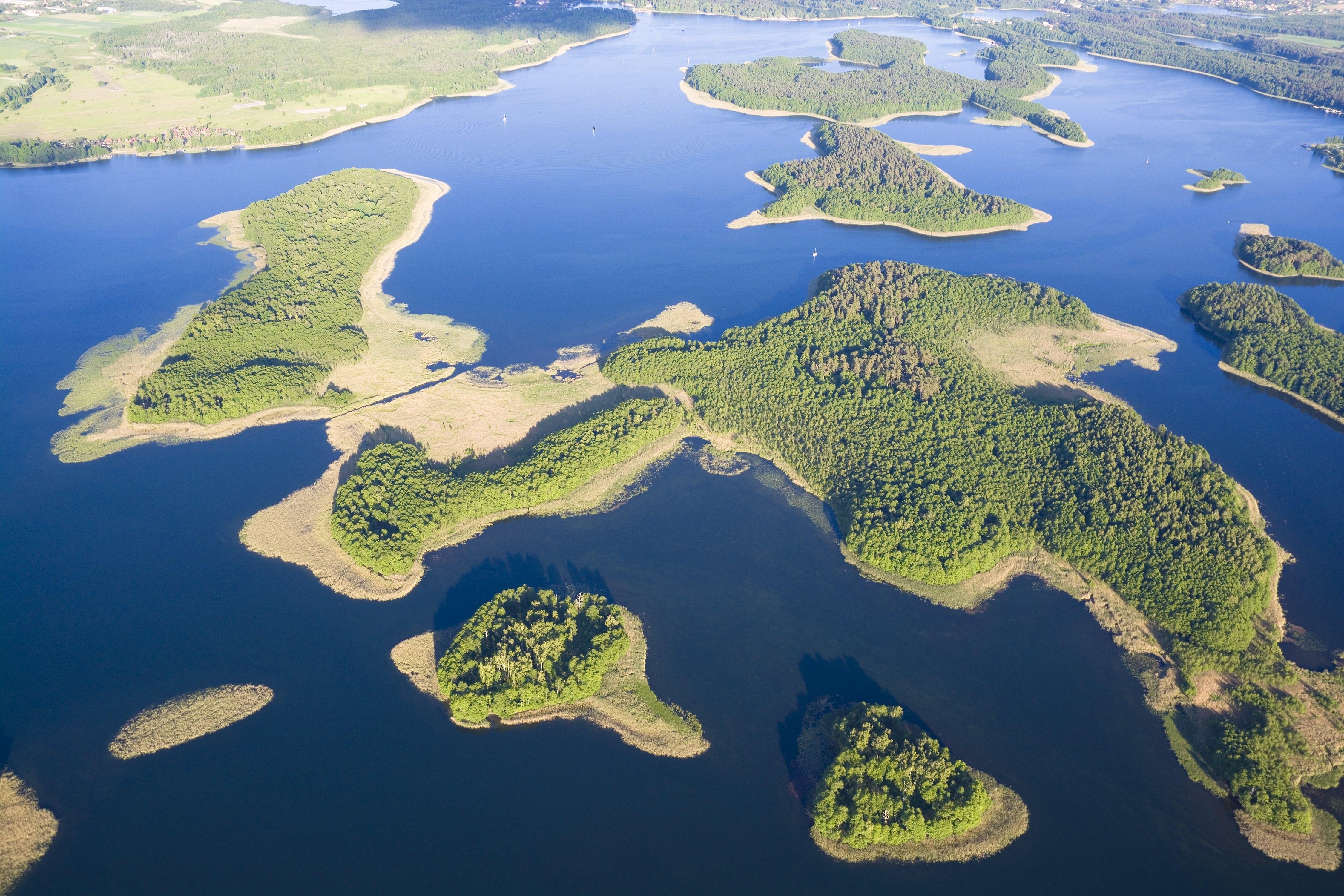 Kisajno jezioro natura