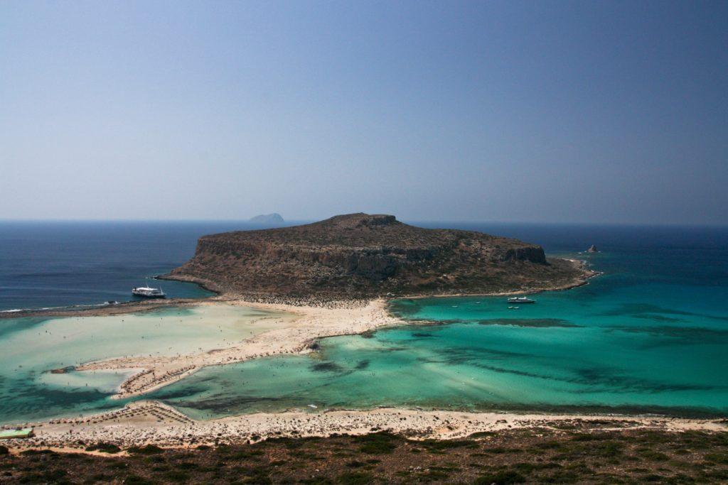 Plaże na Krecie zatoka