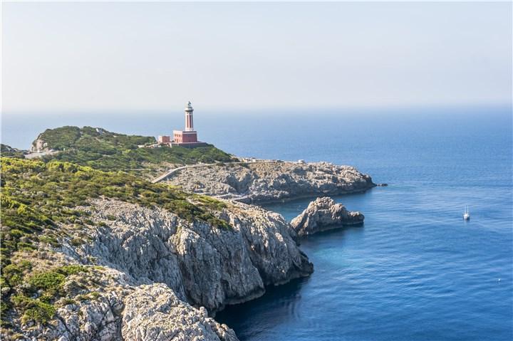 Capri Włochy latarnia morska