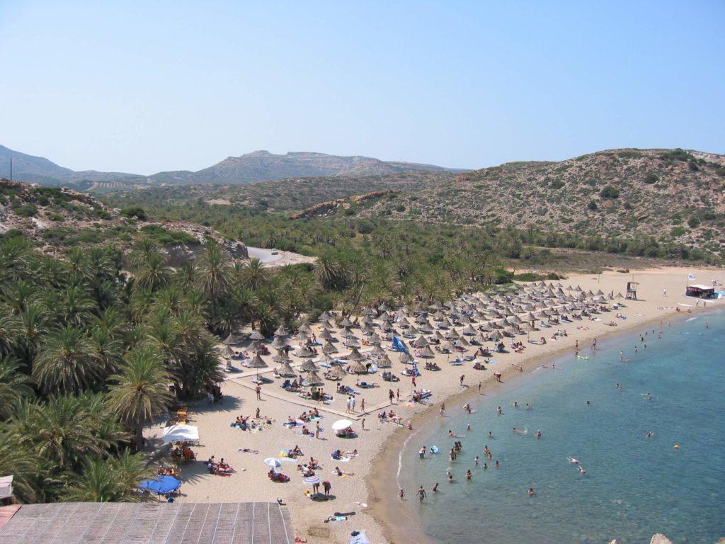 Vai Plaża na Krecie