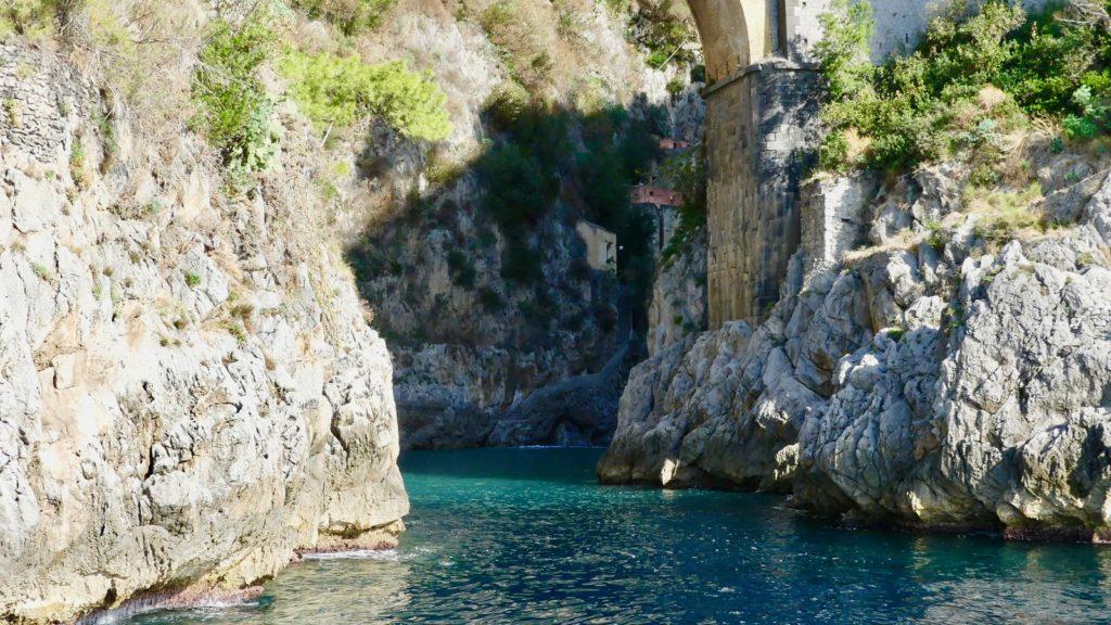 Skały Włochy Amalfi