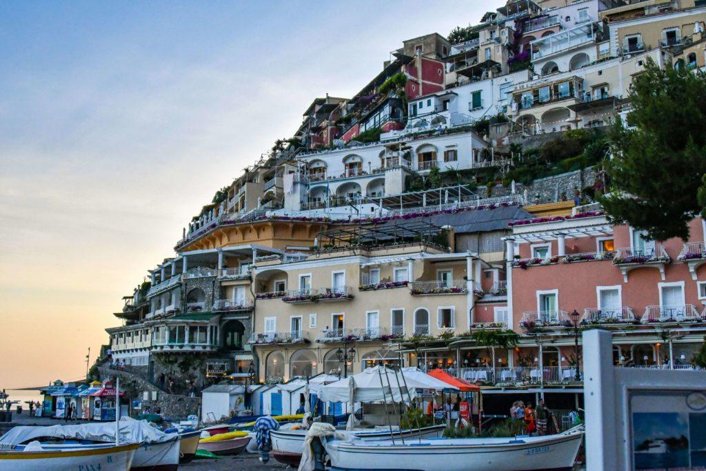Positano Wybrzeże Amalfi czarter jachtów